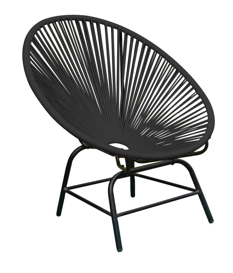 acapulco stuhl anthracite 73x83x88cm. Black Bedroom Furniture Sets. Home Design Ideas